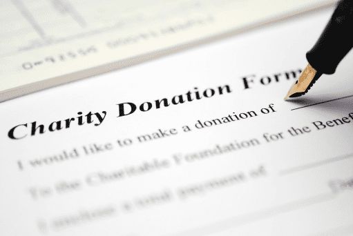 Charity Donation Form | The Oldham Group