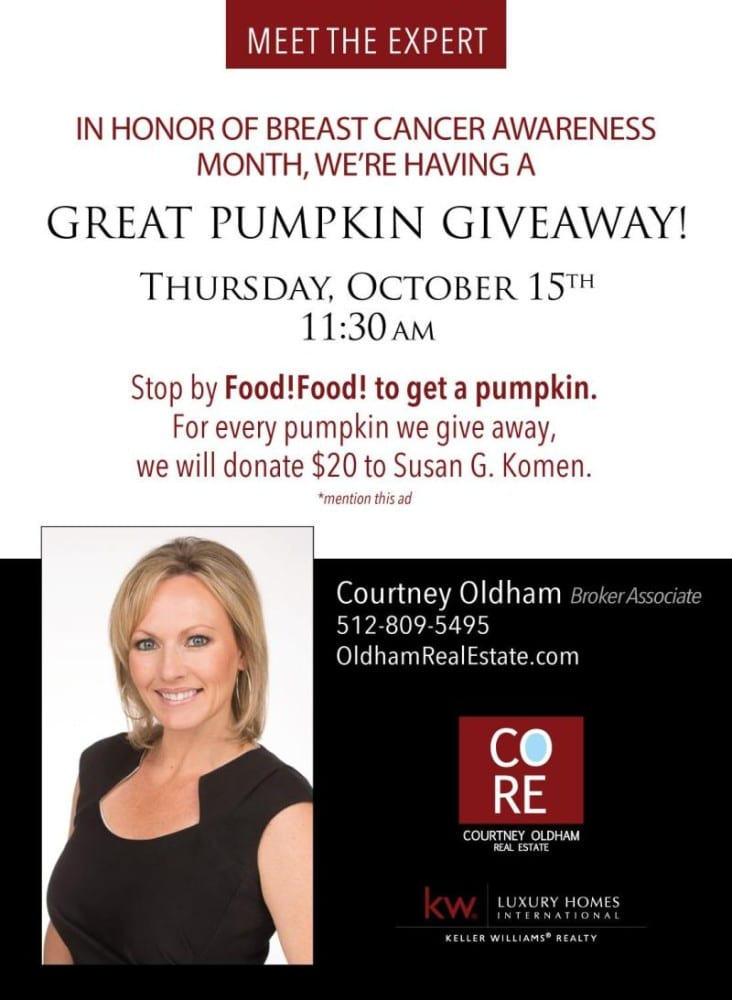 Great Pumpkin Giveaway