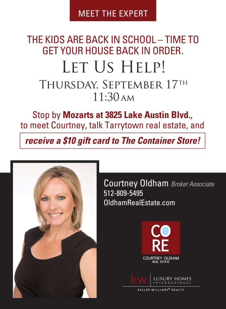 Courtney Oldham - Let us Help! 09/17/15