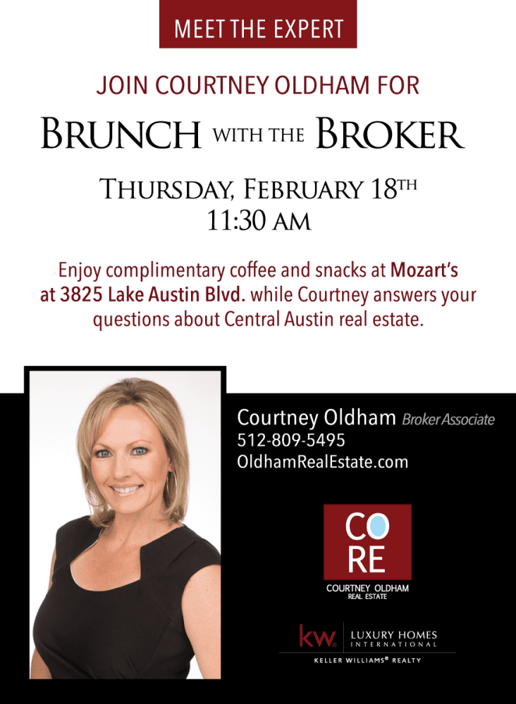 Courtney Oldham - Brunch with the Broker 02/18/16