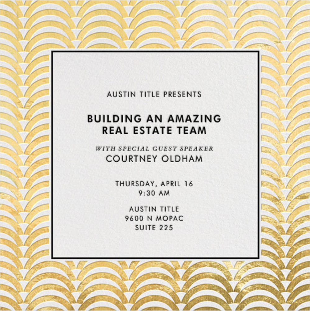 Building an Amazing Real Estate Team 04/16/15