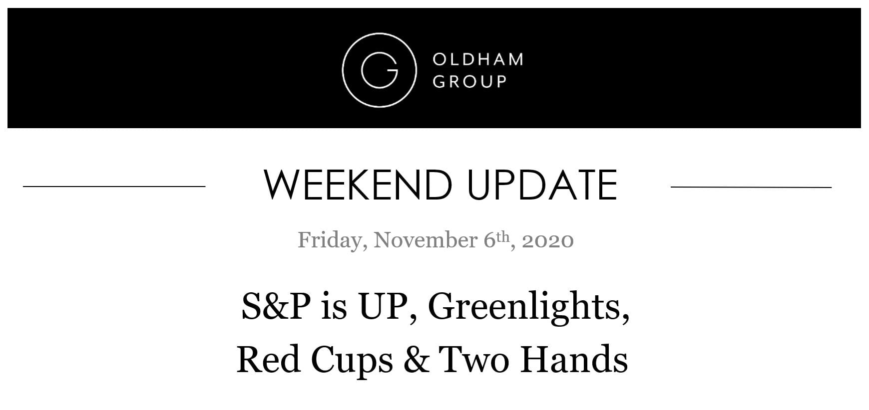 The Oldham Group | Updates November 9, 2020
